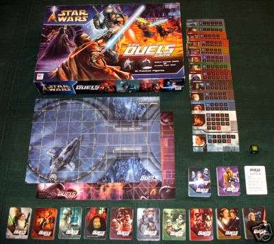 Star Wars USA Epic Duels board game cards
