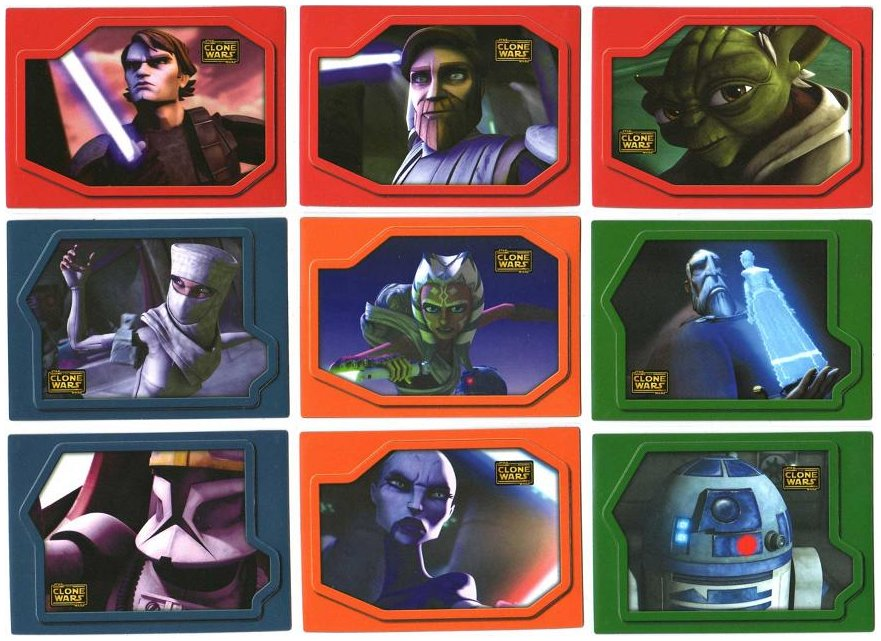 Star Wars Clone Wars 2008 Animation Cell Chase Card #5