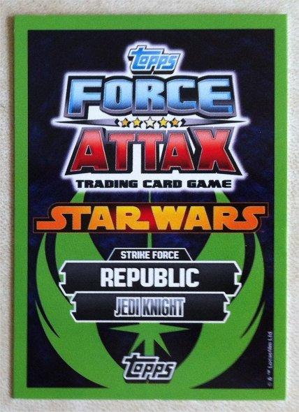 Force Attax Serie 5 LEOK-Obi-Wan Kenobi-EDIZIONE LIMITATA