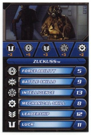 hasbro star wars galactic battles cards