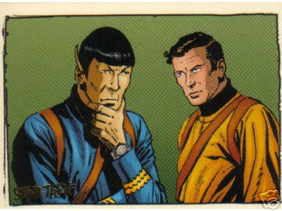 Star Trek QUOTABLE ORIGINAL SERIES COMIC BOOK GK1 GK9   9 CARD SET RITTENHOUSE