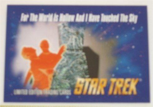 "Star Trek 30 Years Phase One 9 Card /""Evolution Of Technology/"" Chase Set E1-E9"